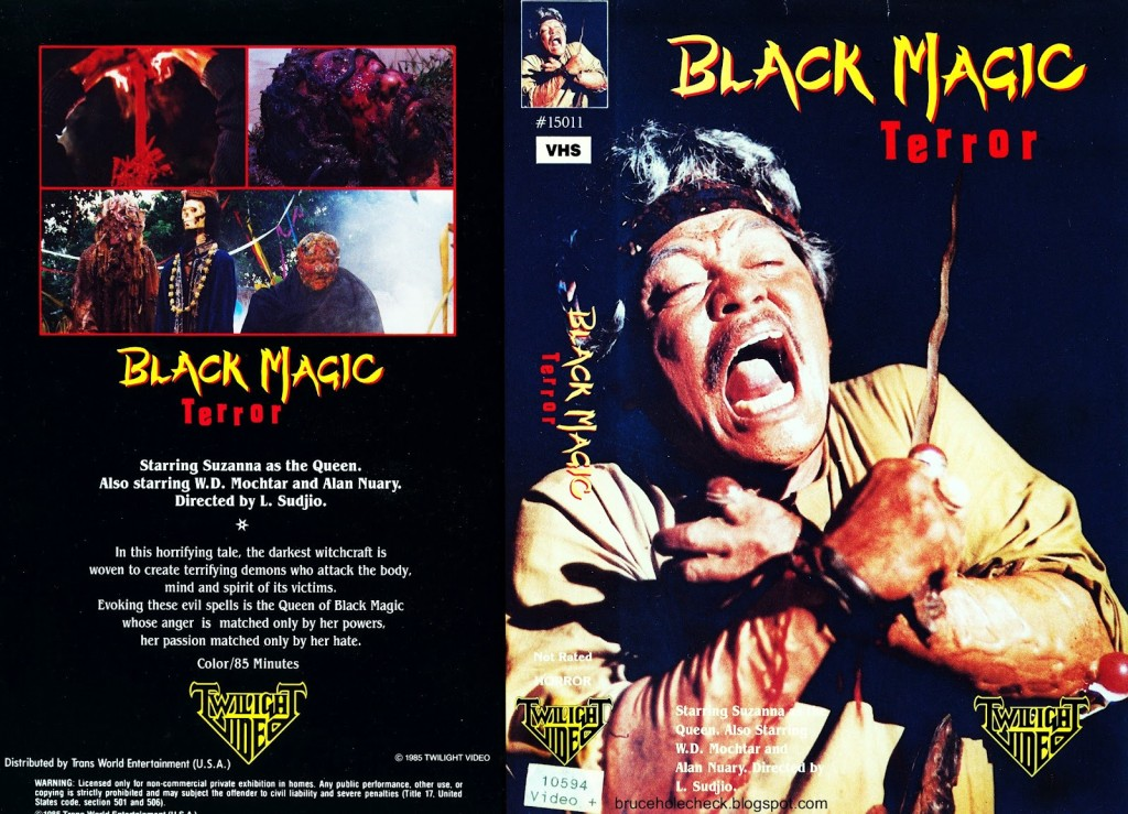Black Magic Terror US Twilight Video VHS