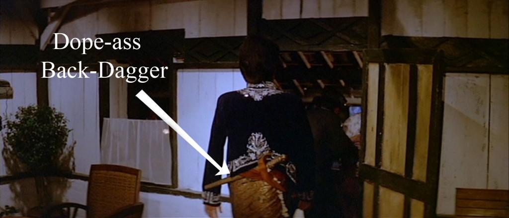 back dagger