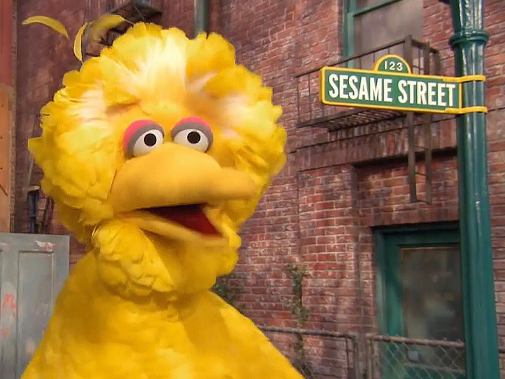 Image: Sesame Street's Big Bird